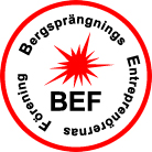 Logotyp BEF