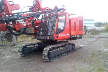 Ny rigg - Sandvik DX780