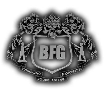 Logotyp Bergförstärkningsgruppen, BFGAB