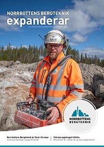 Norrbottens Bergteknik omslag kundtidning 2020