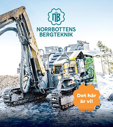 Medarbetarhandbok Norrbottens Bergteknik omslag